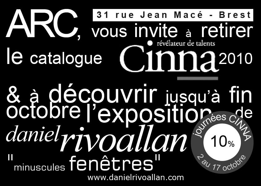 Exposition minuscule chez ARC mobilier à Brest -octobre 2009